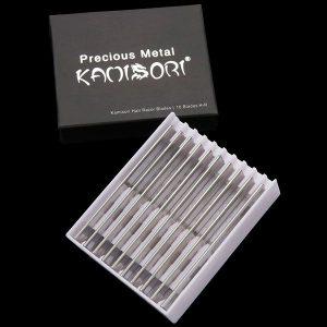 KAMISORI Cuchilla de relleno de rasuradora texturizadoras profesionales