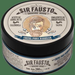 Crema para barbear Sir Fausto 200 ml.