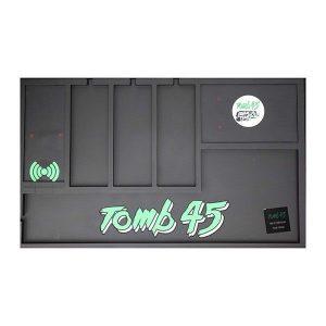 Tomb45 PoweredMat Charging – Alfombra organizadora con cargador sin cables