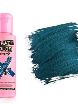 CRAZY COLOR  PEACOCK BLUE TINTE SEMI PERMANENTE 100ML